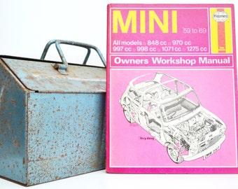 Haynes Mini Owners Workshop Manual   Mini Owners Manual   Hardback Book   Birthday Gift   Car Memorabilia   Book for Dad   Car Book  