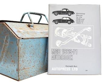Autobook MG Workshop Manual | MGB Owners Manual | Hardback Book | Birthday Gift | Car Memorabilia | Book for Dad | Car Book