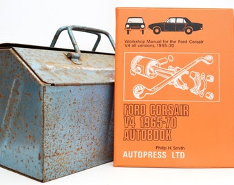 Autobook Ford Workshop Manual | Ford Corsair V4 Owners Manual | Hardback Book | Birthday Gift | Car Memorabilia | Book for Dad | Car Book