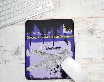 Mousemats Lancaster Bomber Haynes | Mousemat | Birthday Gifts | Lancaster | Plane Memorabilia | RAF Enthusiasts | RAF Gifts | Lancaster