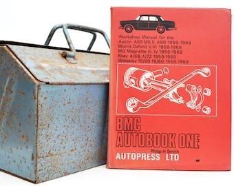 Autobook BMC Workshop Manual | Austin, Morris, MG, Riley and Wolseley Owners Manual | Hardback Book | Birthday Gift | Car Memorabilia |