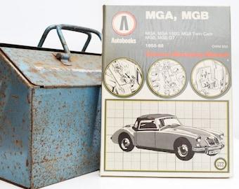 Autobook MG Workshop Manual | MGA & MGB Owners Manual | Hardback Book | Birthday Gift | Car Memorabilia | Book for Dad | Car Book |