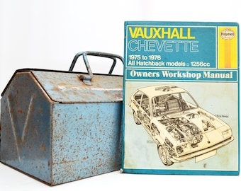 Haynes Vauxhall Owners Workshop Manual | Vauxhall Chevette Owners Manual | Hardback Book | Birthday Gift | Car Memorabilia | Book for Dad |