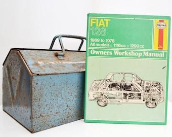 Haynes Fiat Owners Workshop Manual | Fiat 128 Owners Manual | Hardback Book | Birthday Gift | Car Memorabilia | Book for Dad | Car Book |