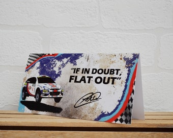 Greeting Cards | Colin McRae | Birthday Cards | Car Memorabilia | Ford Focus | Cards | Special Occasions | Motorsport Cards | Ford Gifts
