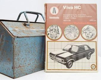 Autobook Vauxhall Workshop Manual | Vauxhall Viva Owners Manual | Hardback Book | Birthday Gift | Car Memorabilia | Book for Dad | Car Book