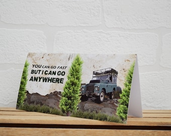 Greeting Cards | Land Rover | Birthday Cards | Car Memorabilia | Land Rover Series III | Cards | Special Occasions | Land Rover Cards