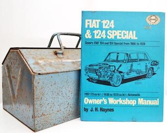 Haynes Fiat Owners Workshop Manual | Fiat 124 Owners Manual | Hardback Book | Birthday Gift | Car Memorabilia | Book for Dad | Car Book |