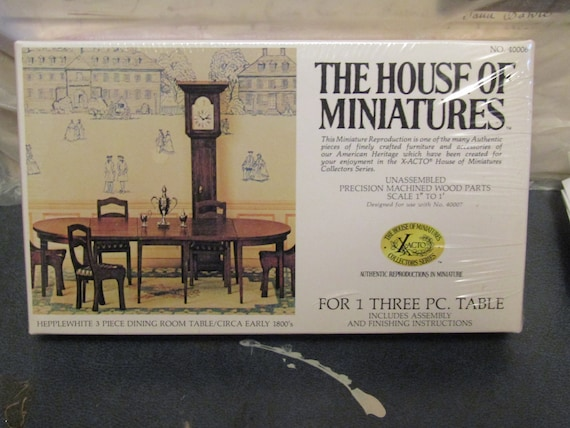 House of Miniatures Table kit