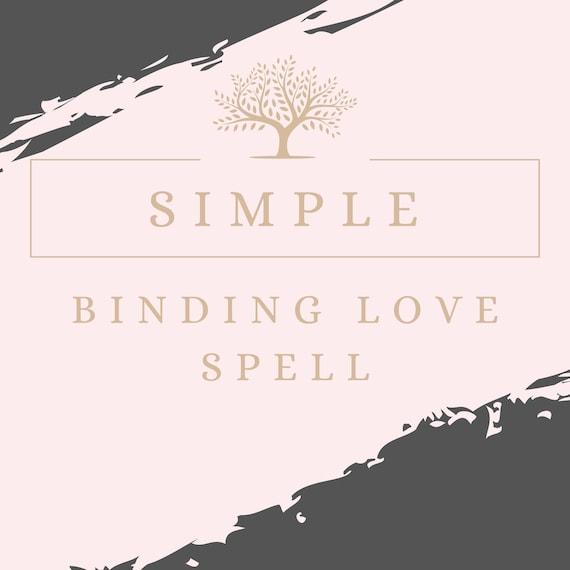 Binding spells love simple Love Spell