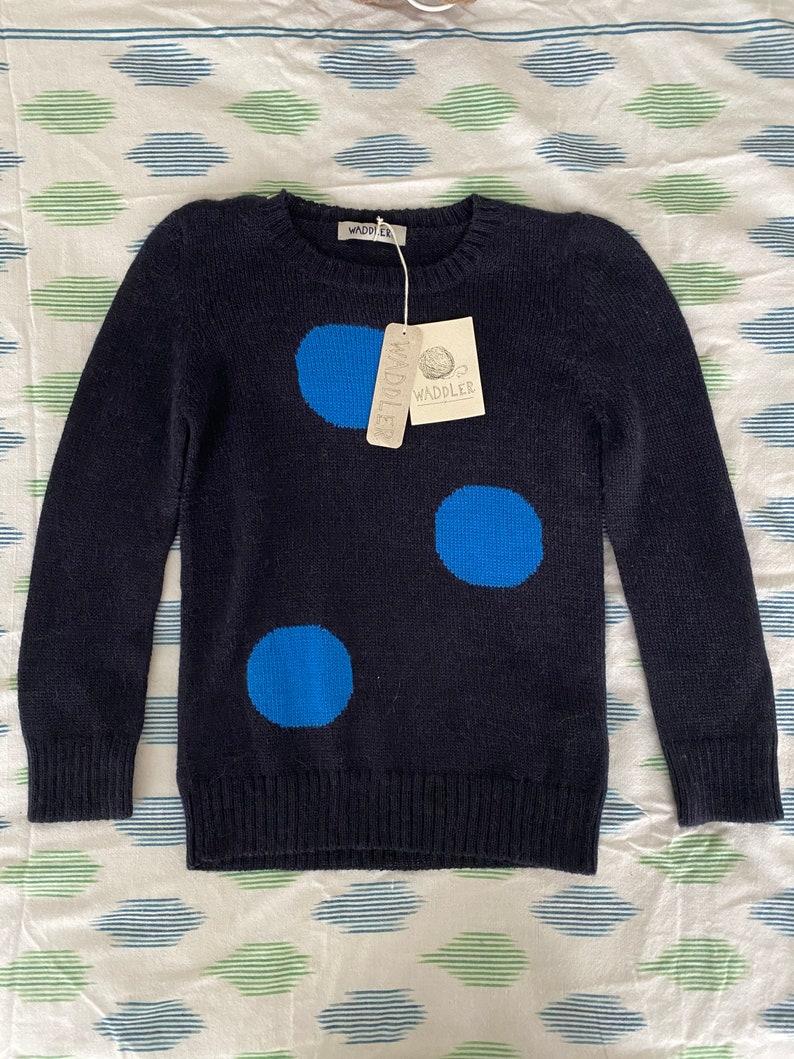 Size 10Y Baby Alpaca Sweater Waddler