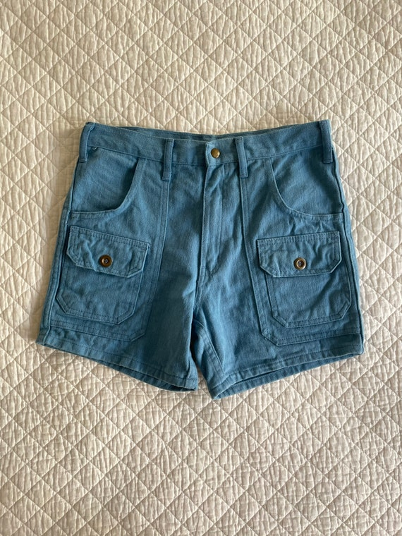 "1970s Robert Bruce Denim shorts size 30"""
