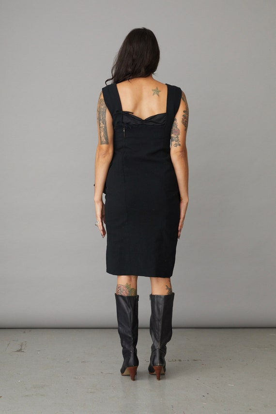 1980s Pauline Trigere Couture Dress Small / Medium - image 3