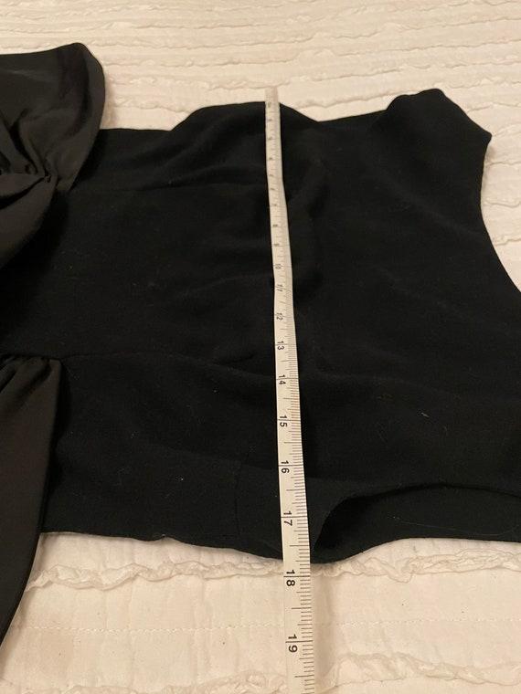 1980s Pauline Trigere Couture Dress Small / Medium - image 5