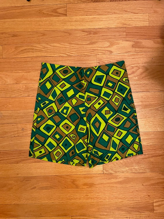 1960s JETSON'S Abstract Swim Shorts S