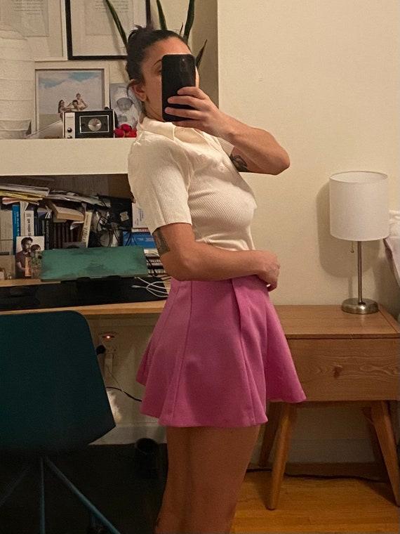 1960s Mini Skirt Small