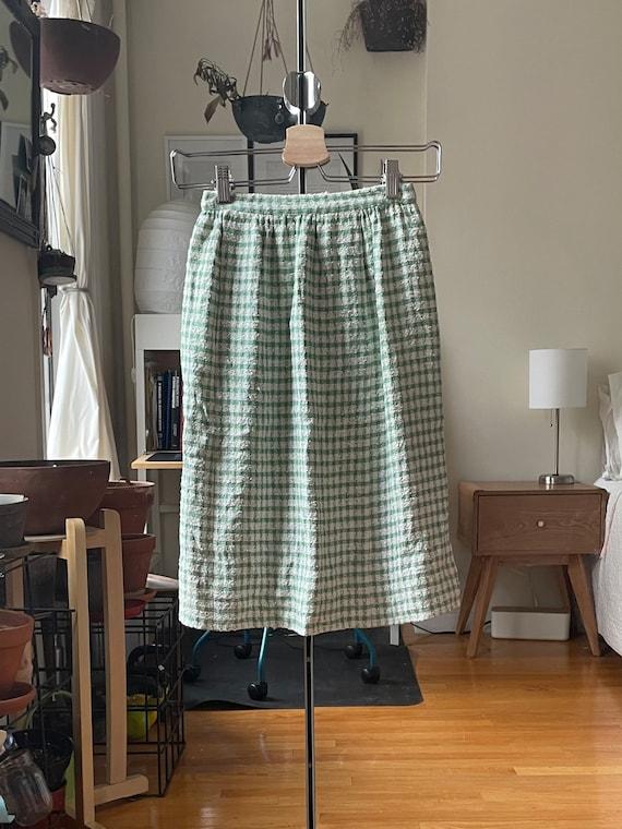 1960s Green Skirt XXS