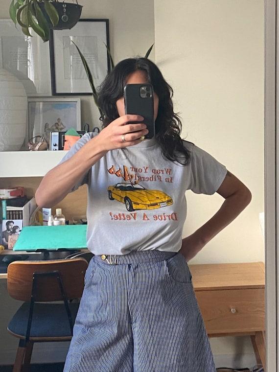 1980s Corvette T-shirt Small
