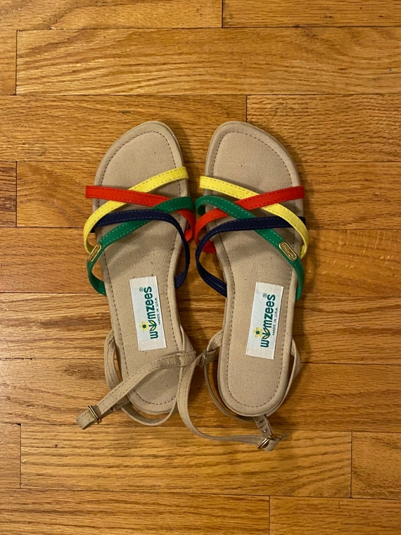 1970s Wimsee's Sandals Dead Stock / dead stock vin
