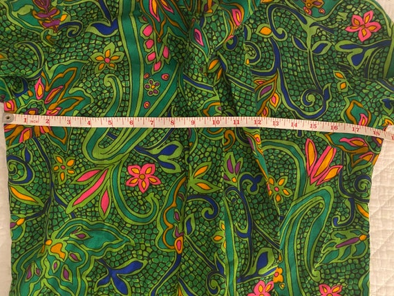 1960s Psychedelic Paisley Print - image 7