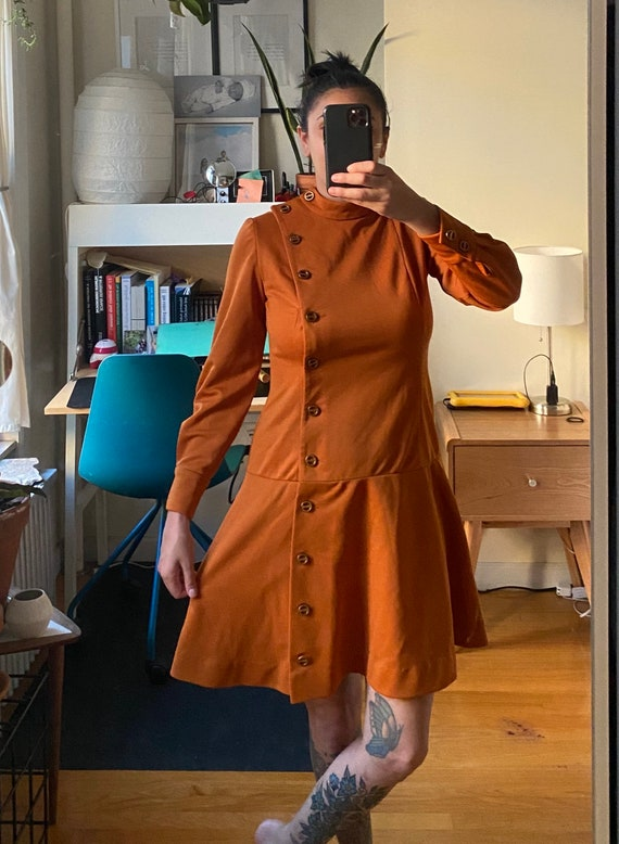 1960s Fred Rothman Scooter Dress M