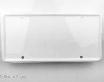 Custom Vanity License Plate