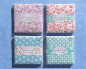 1930s Feedsack Charm Pack - 42 5 quot x 5 quot Cotton Fabric Squares - Hand Made - 30s Aunt Grace Style Prints - Pre-Washed - No Duplicates