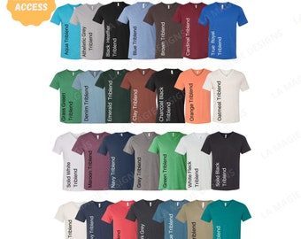 Canvas Maroon Triblend V-Neck Shirt Mockup 3415C  Feminine Shirt Mockups with Boots   Digital Photo  Fall Shirt Flat Lay Bella