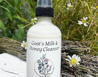 Goat's Milk & Honey Cleanser