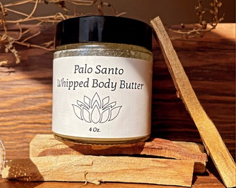 Palo Santo Whipped Body Butter