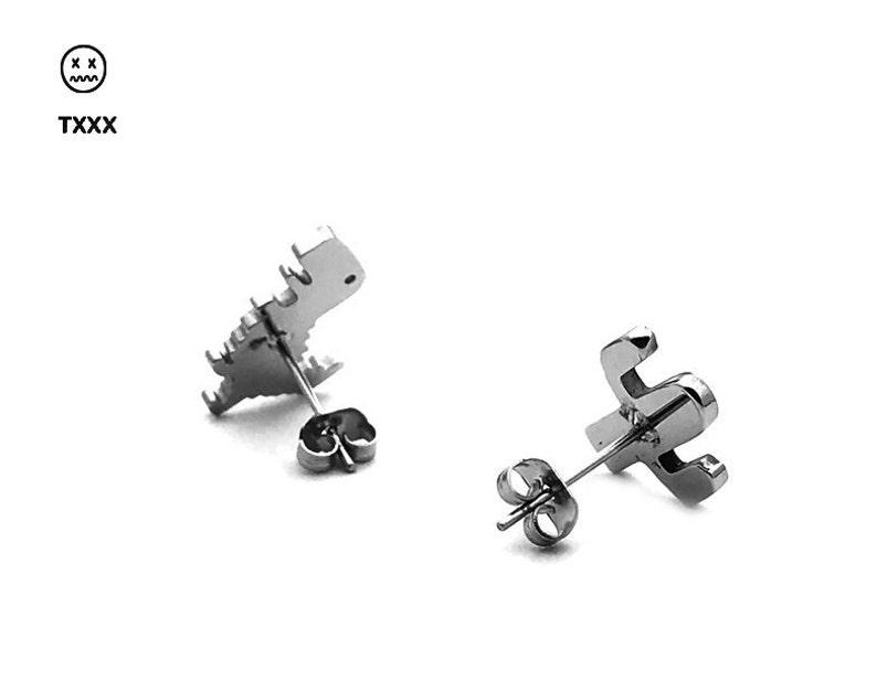 T-Rex /& Cactus Combo Earring