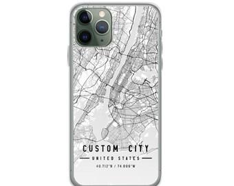 iPhone X Galaxy S21 Pixel 5 iPhone 11 Case iPhone 11 Pro Case Oxnard City Map iPhone Case iPhone 12 Case iPhone 12 Pro Max Case