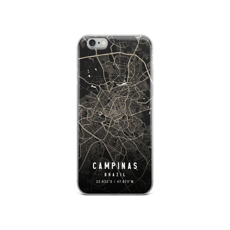 iPhone XXRXSXS Max iPhone 12 ProPro MaxMini Campinas Brazil City Map Case For iPhone 12 iPhone 11iPhone 11 Pro Max