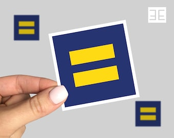 Equal Rights sticker, Human Rights sticker