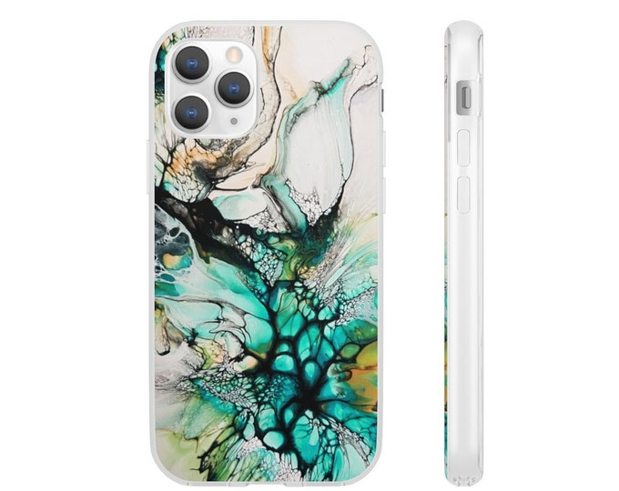 Abstract Marble Flexi Cases, Multiple Sizes