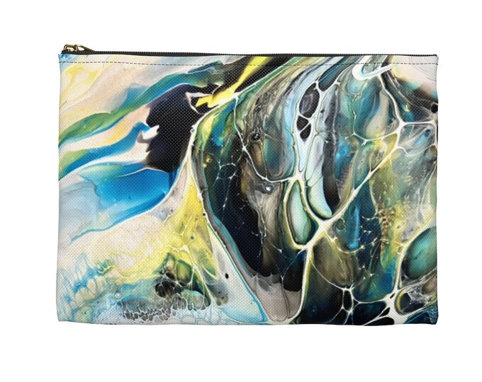 All Purpose Accessory Pouch, Make Up Bag/ Pencil Bag
