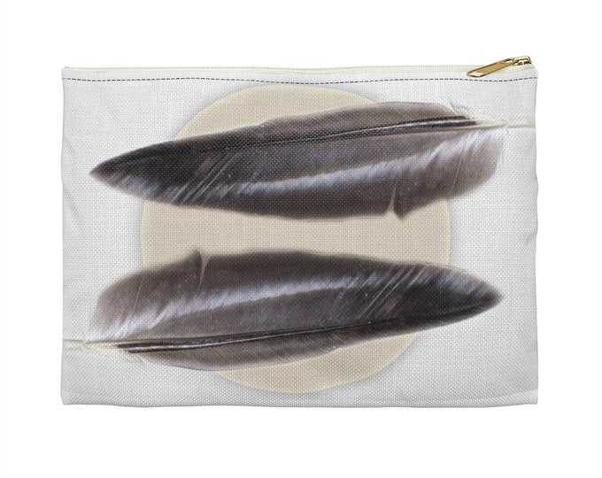 Minimalist Bohemian All Purpose Accessory Pouch