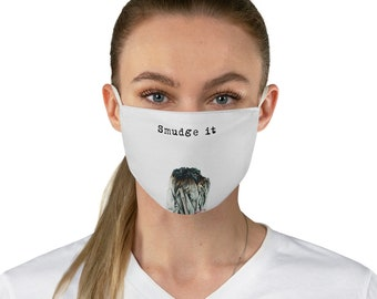 Smudge it Fabric Face Mask