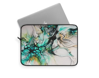 Abstract Marble Laptop and Tablet Travel Sleeve, Multiple Sizes