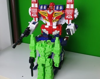 3D printed self made Energon Wing Saber soldier scout sized