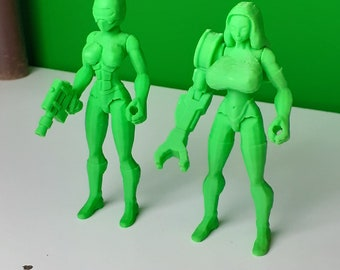 Sexy female figure busty barbarian strong curvy super heroes superhero actionfigure statue