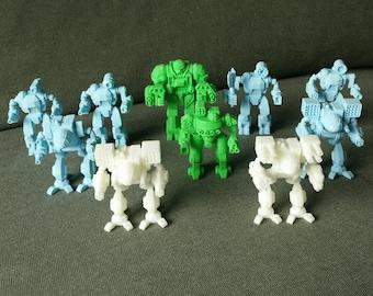 Mechwarrior battlemech mechassault mech robot miniature battletech tabletop gaming mecha