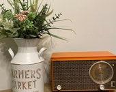 Antique Zenith radio, renewed in working condition.