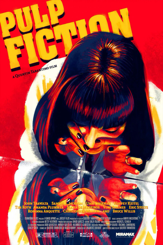Pulp Fiction Neue Glanz Poster 20x 20