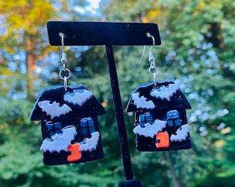 Halloween Earring | Clay earrings | statement earrings | Resin earrings |