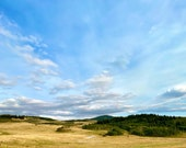 Prairie Skies under the Porcupine Hills in Alberta, Canada: A Blank Photo Card