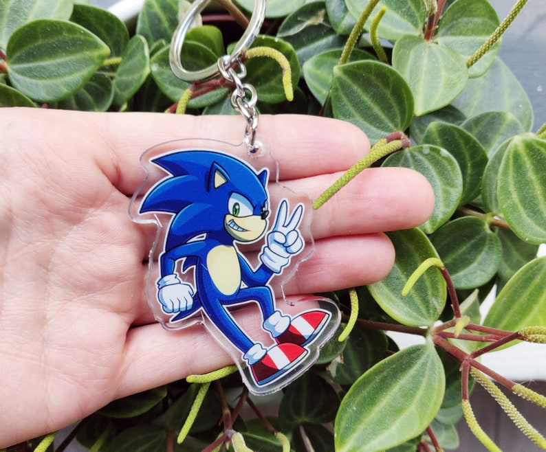 Sonic Keychain