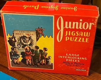 1950s Jigsaw Puzzle Etsy