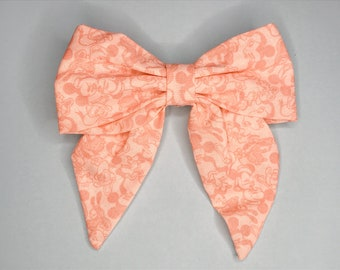 Pink Mickey & Friends Hair Bow Clip - Disney Inspired