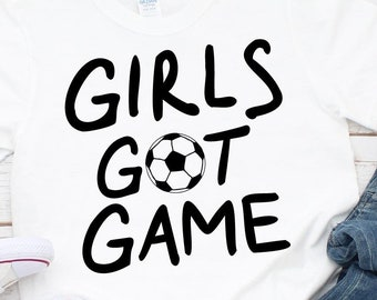 Girls Got Game Svg Etsy